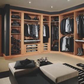 наполнение для шкафов и гардеробных варианты обустройства