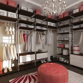 наполнение для шкафов и гардеробных дизайн