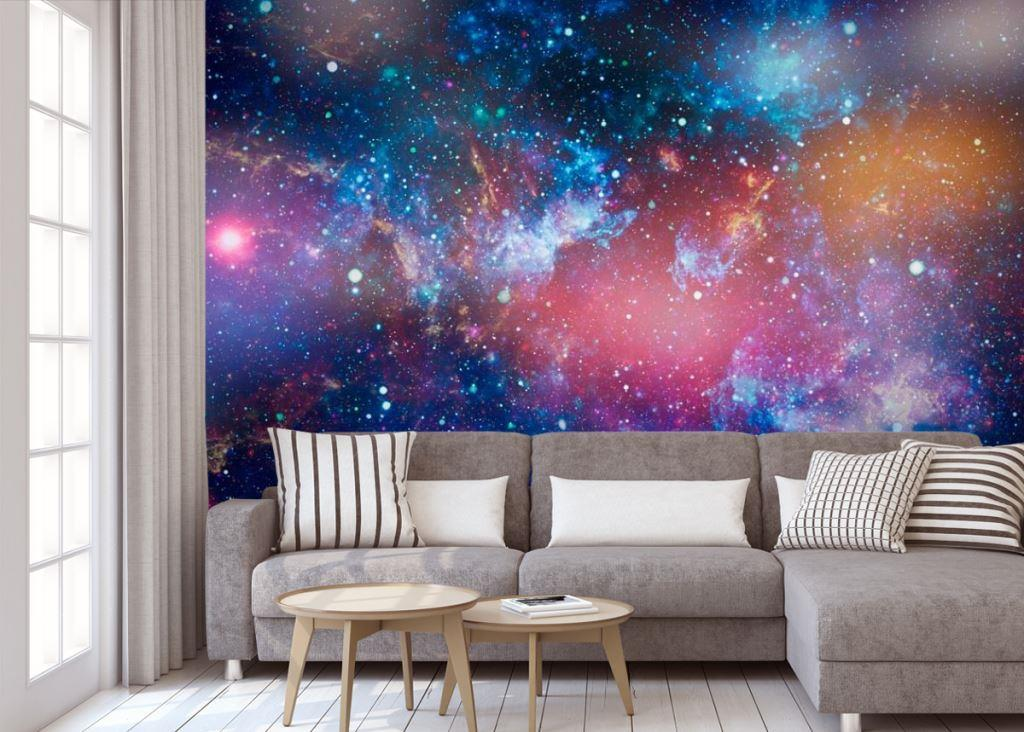обои космос для гостиной