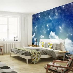 обои космос в комнате виды
