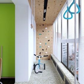обустройство балкона и лоджии декор