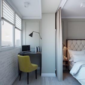 обустройство балкона и лоджии идеи декора