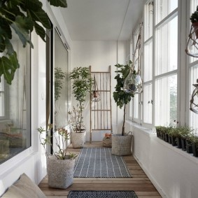 обустройство балкона и лоджии интерьер