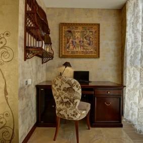 обустройство балкона и лоджии идеи интерьера