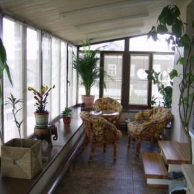 обустройство балкона и лоджии фото оформление