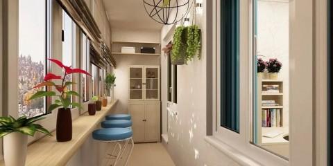 обустройство балкона и лоджии фото идеи