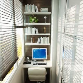 обустройство балкона и лоджии варианты фото