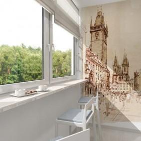 обустройство балкона и лоджии фото вариантов