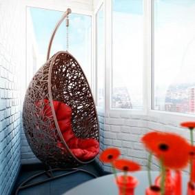 обустройство балкона и лоджии варианты идеи