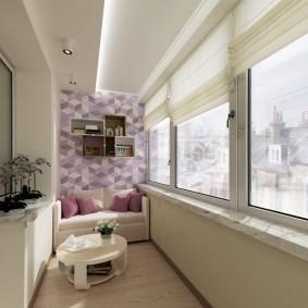 обустройство балкона и лоджии дизайн