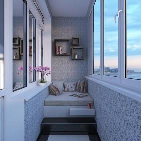 обустройство балкона и лоджии виды идеи