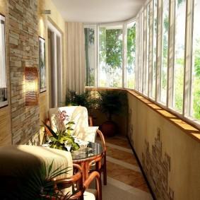 обустройство балкона и лоджии обзор