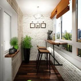обустройство балкона и лоджии виды дизайна