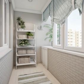 обустройство балкона и лоджии виды оформления