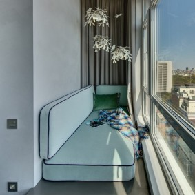 обустройство балкона и лоджии идеи дизайн