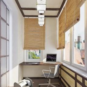освещение на балконе идеи вариантов
