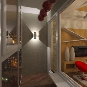 освещение на балконе идеи декор