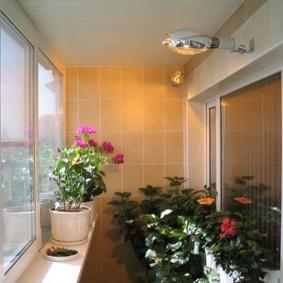 освещение на балконе виды декора