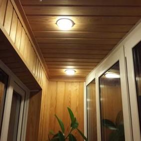 освещение на балконе виды дизайна