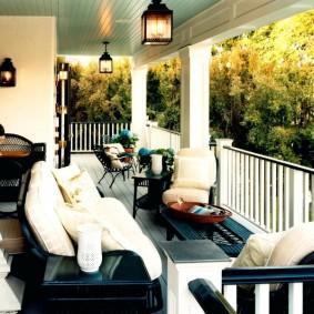 освещение на балконе фото дизайн