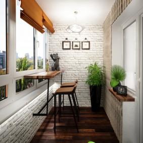освещение на балконе дизайн