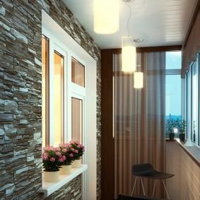 освещение на балконе идеи дизайн