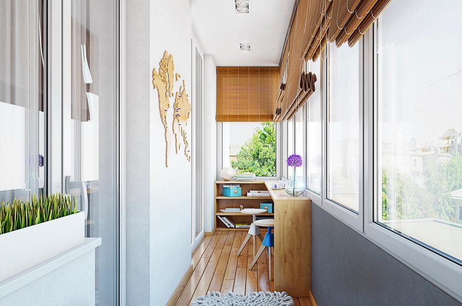 освещение на балконе дизайн фото