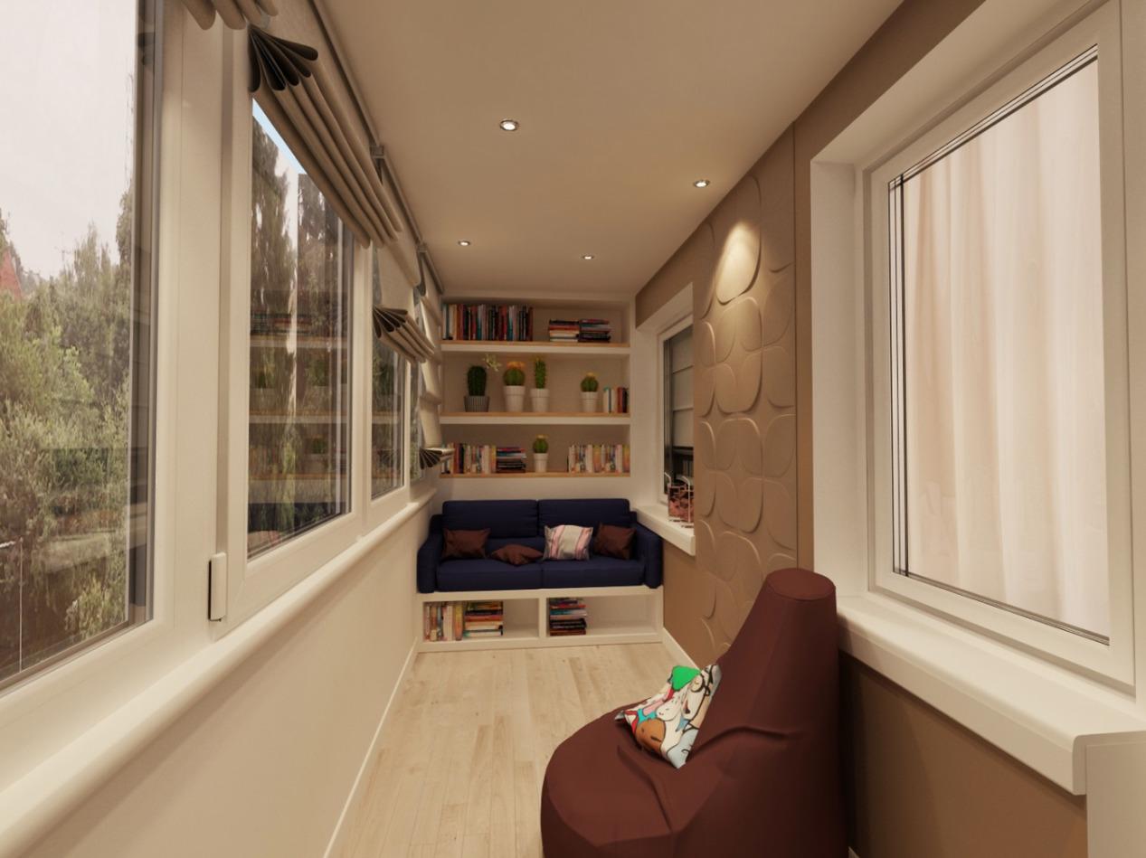 освещение на балконе дизайн идеи