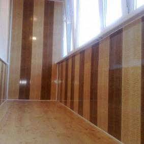 отделка балкона ламинатом идеи интерьера
