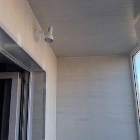 отделка балкона ламинатом фото вариантов
