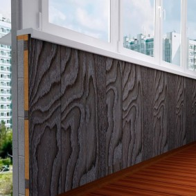 отделка балкона пластиковыми панелями фото дизайна