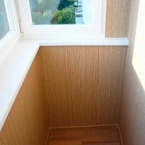 отделка балкона пластиковыми панелями идеи оформления