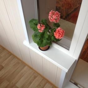 отделка балкона пластиковыми панелями идеи варианты