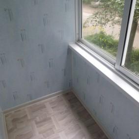 отделка балкона пластиковыми панелями идеи вариантов