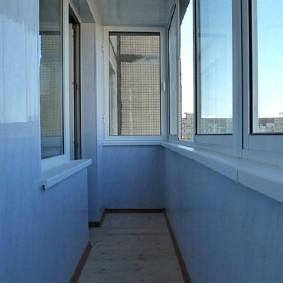 отделка балкона пластиковыми панелями виды идеи