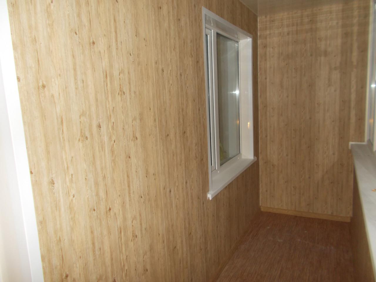 отделка балкона пластиковыми панелями варианты