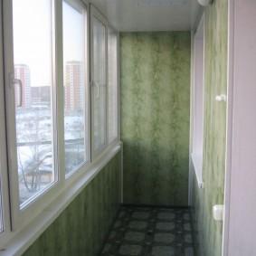 отделка балкона пластиковыми панелями виды фото