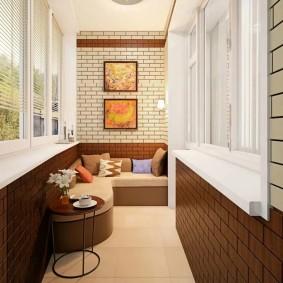 расширение балкона идеи дизайн