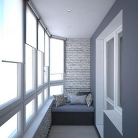 расширение балкона идеи дизайна