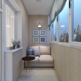 расширение балкона идеи декора