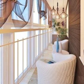 расширение балкона идеи интерьер