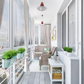 расширение балкона идеи оформление