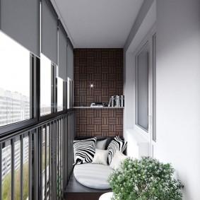 расширение балкона идеи фото