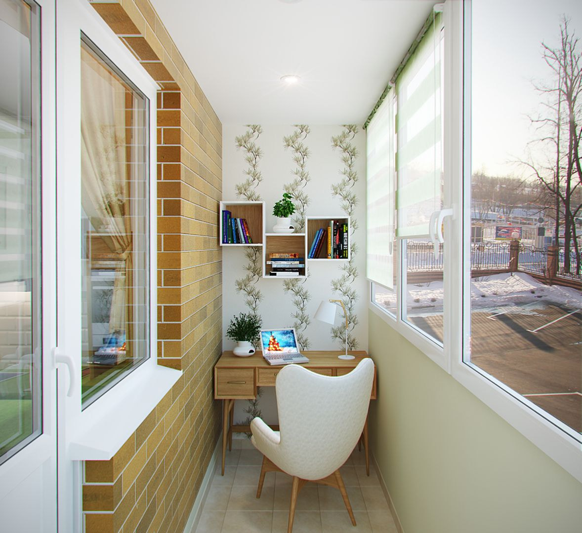 делом нужно утепленный балкон дизайн фото в панельном зависимости того