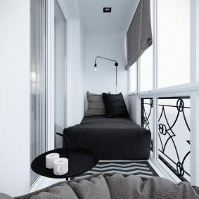 расширение балкона виды дизайна