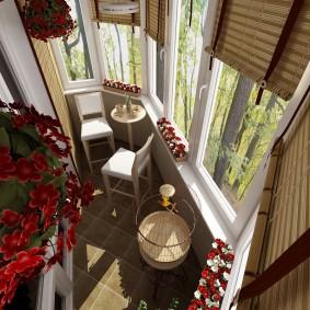 расширение балкона виды оформления
