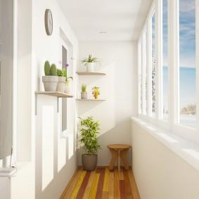 расширение балкона дизайн фото