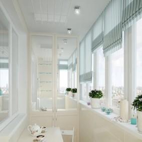 расширение балкона фото дизайна
