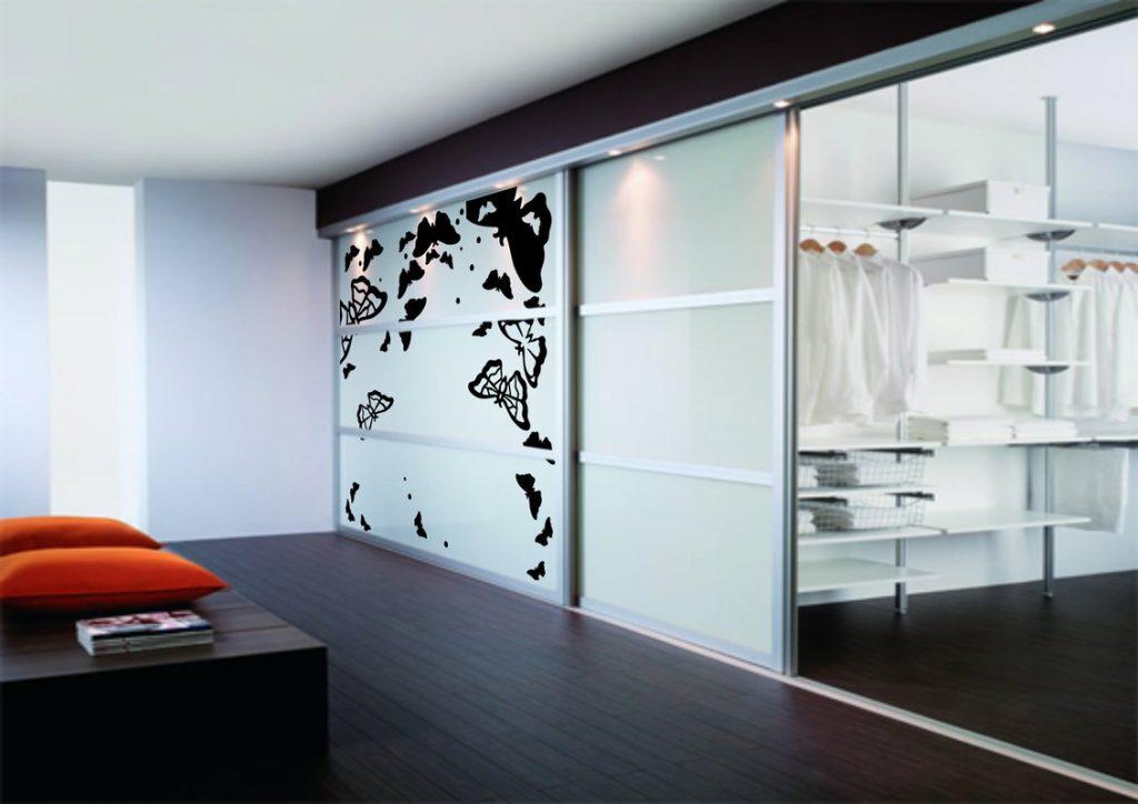 раздвижные двери для гардеробной декорирование