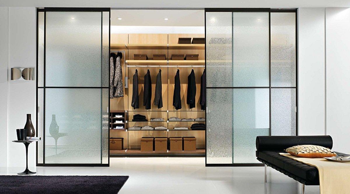 раздвижные двери для гардеробной фото дизайн